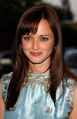 Top Fashion Model Alexis Bledel in Different Postures and Poses