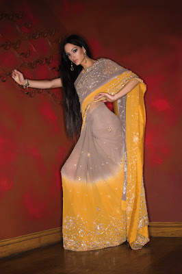 Cute Models in Pakistan, Indian & Pakistani Models in Sarees
