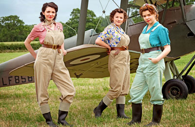 Site Blogspot   Hairstyles on Made With Love      Just For You X  The Land Girls       Series Two