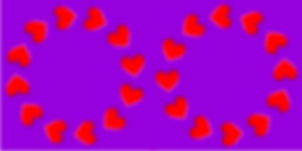 Heart Optical Illusion