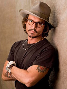 Johnny Depp the hottest celebrity poker player