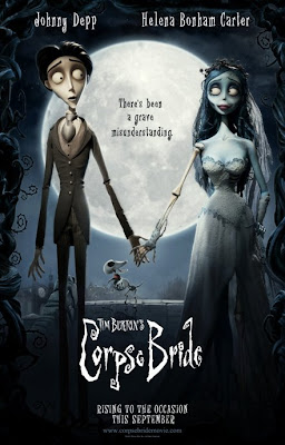 Johnny Depp voice over in movie the Corpse Bride