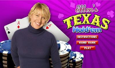 Ellen DeGeneres | Texas Hold'em poker