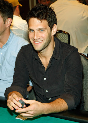 Justin Bartha at The Hangover Poker Tournament
