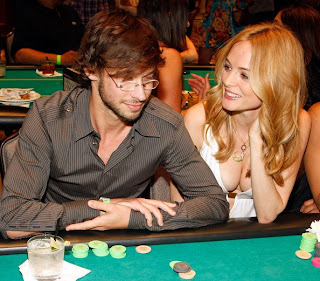 Celebrity Poker Player Heather Graham Celebrity Poker