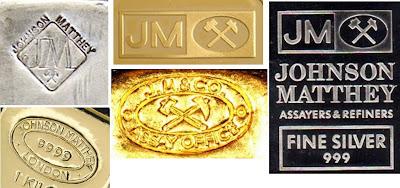 Johnson Matthey bullion