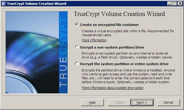 TrueCrypt 7: Free USB Encryption Software