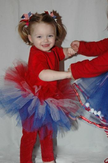 And Little Miss Firecracker pigtail Set from Sweetness Bows: