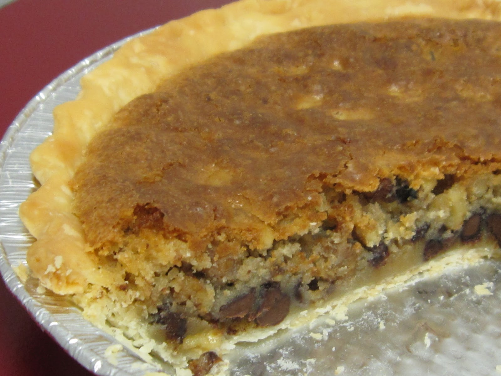 HANNAH IN THE KITCHEN: Toll House Chocolate Chip Pie
