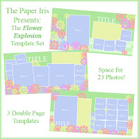 The Flower Explosion Template Set