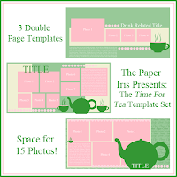 The Time For Tea Template Set
