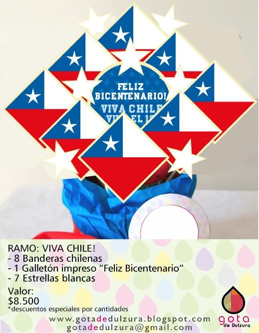 Gota de dulzura for Diario mural fiestas patrias chile