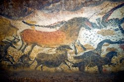 Paintings from Lascaux