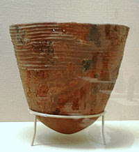 Example of Jōmon pottery, Japan