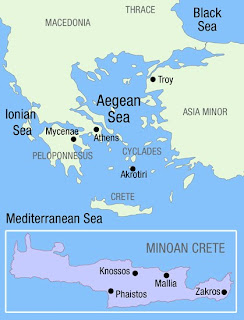 The Aegean Sea in the Bronze Age