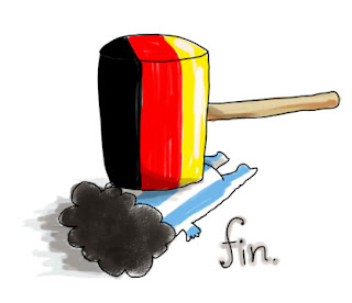 即席ですが。 #arg x #ger on Twitpic