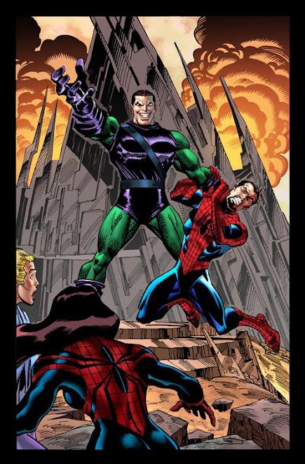 Spider Girl Colorização para a Marvel Comics