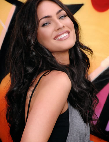 megan fox hair extensions. Hair; megan fox