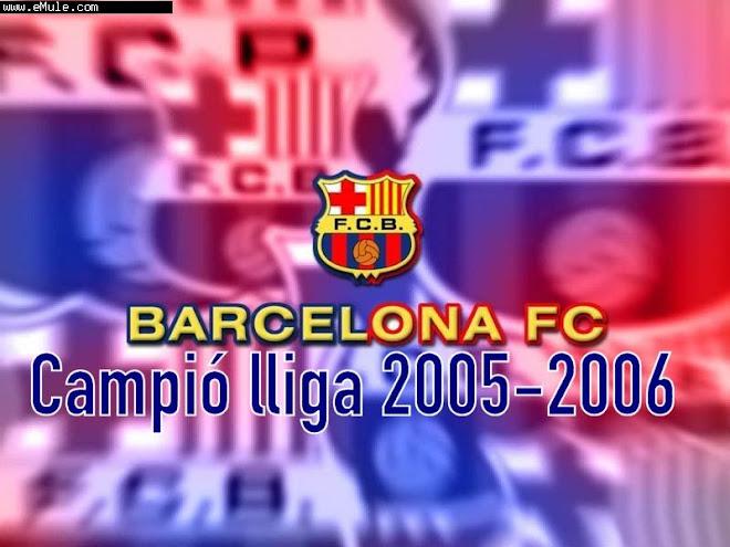 CAMPIÓ LLIGA 2005 - 2006