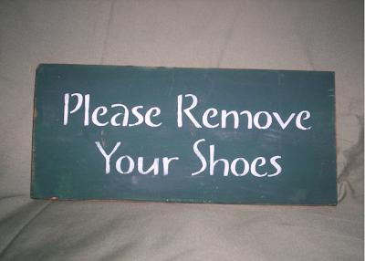 Creative Adventures Remove Shoes
