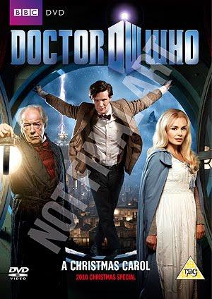 Blink: Doctor Who 'A Christmas Carol' DVD Cover