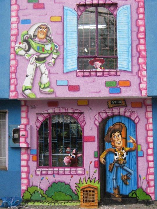 Pintura decorativa murales infantiles alcobas y murales for Alcobas infantiles