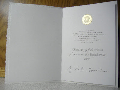 he actually had the honor of receiving the card you see in the images above he receives my undying gratitude for giving