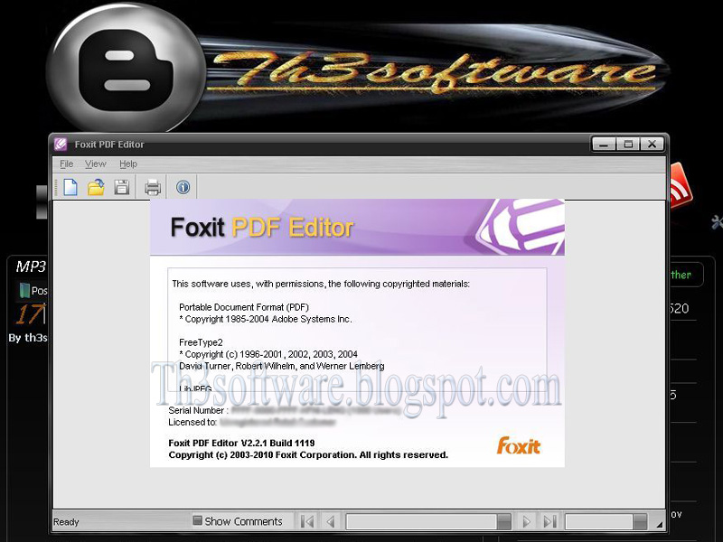 Foxit Pdf Editor V   Build  Crack