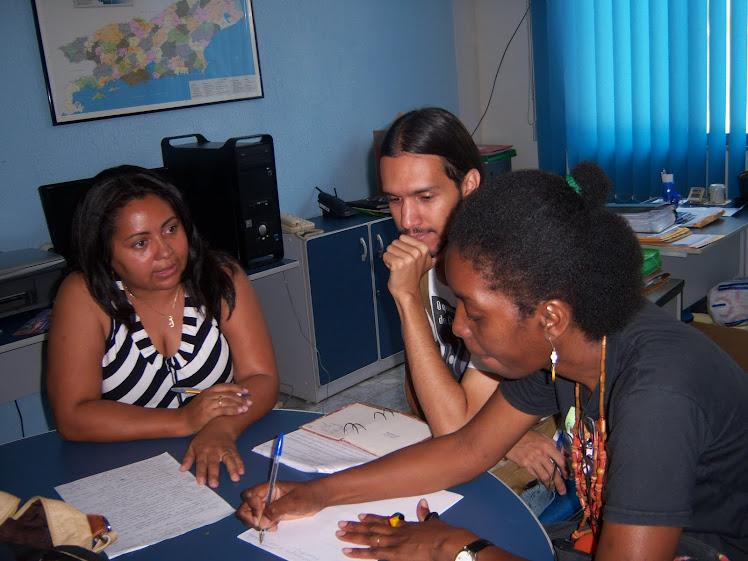 Visita ao C.E. Sol Nascente - Dia 6 de novembro tem Consciência Negra por lá!