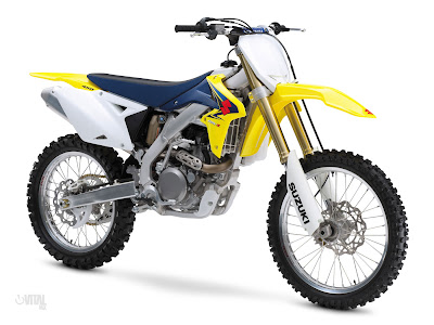 Suzuki RMZ-450. Racing (dirt and tarmac) is picking up in India.