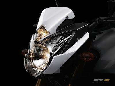 2010 Yamaha FZ8 naked and FZ8 Fazer8