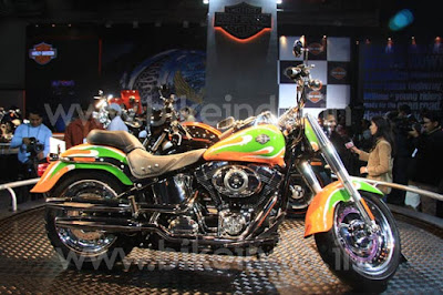 Harley India to auction the tricolor Fat Boy 2010