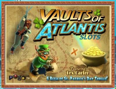 Pogo vaults of atlantis slots games