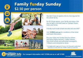 Family Funday Sunday Poster