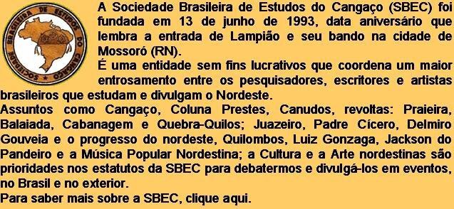 SBEC - Sociedade Brasileira de Estudos do Cangaço