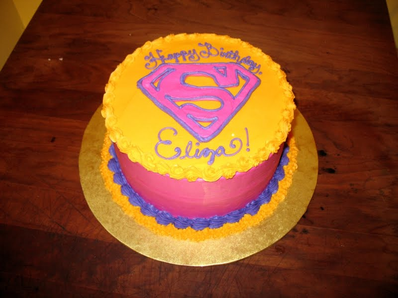 Supergirl Cake Images Prezup for