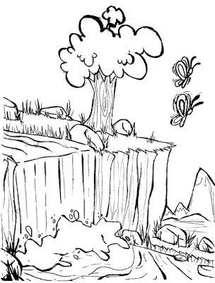 meio ambiente desenhos para colorir de natureza desenhos ambiental