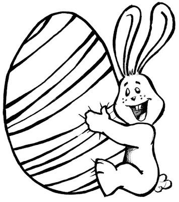 coelho e ovo de páscoa colorir desenhos de animais desenhos para