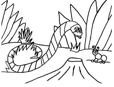 cobra vs formiga