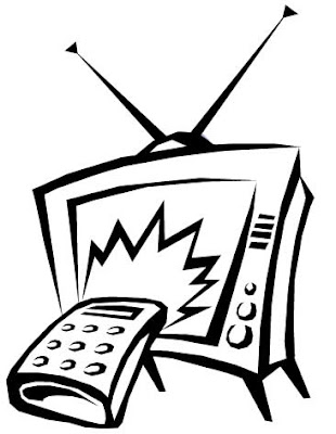 Desenhos para colorir de televisão (TV) para colorir Diversos desenhos para as crianças se divertir
