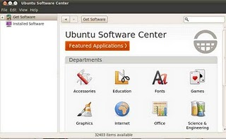 Software center  ubuntu