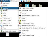 Graphic Menu in Ubuntu Linux 9.10