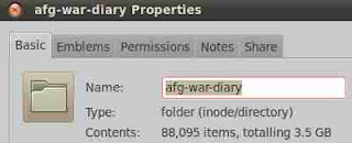 us afghan war document folderFolder size