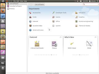 Ubuntu 10.10 Software Center