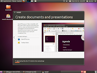 creating document and presentation on ubuntu