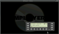 mplayer as media player on antiX Operating system