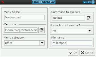 desktop files information
