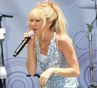 Miley Cyrus Long fringe Celebrity Hairstyles