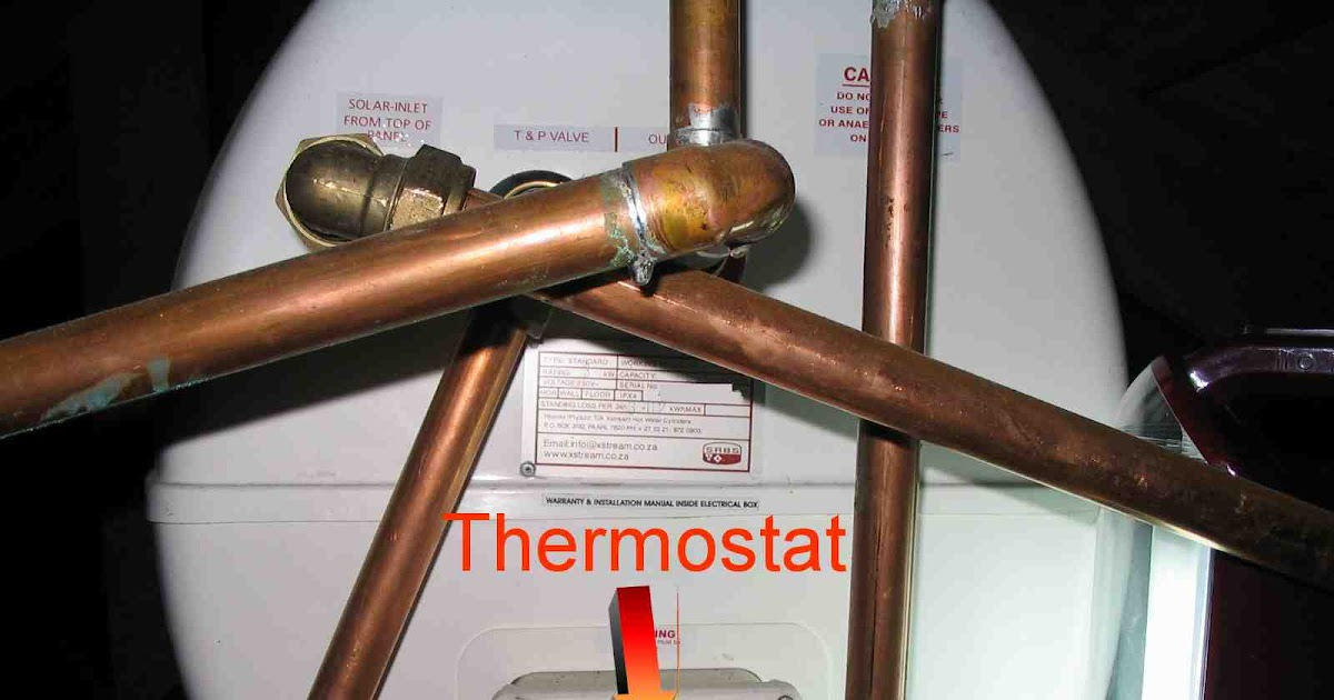 Hands on technical tips where is my geyser s thermostat