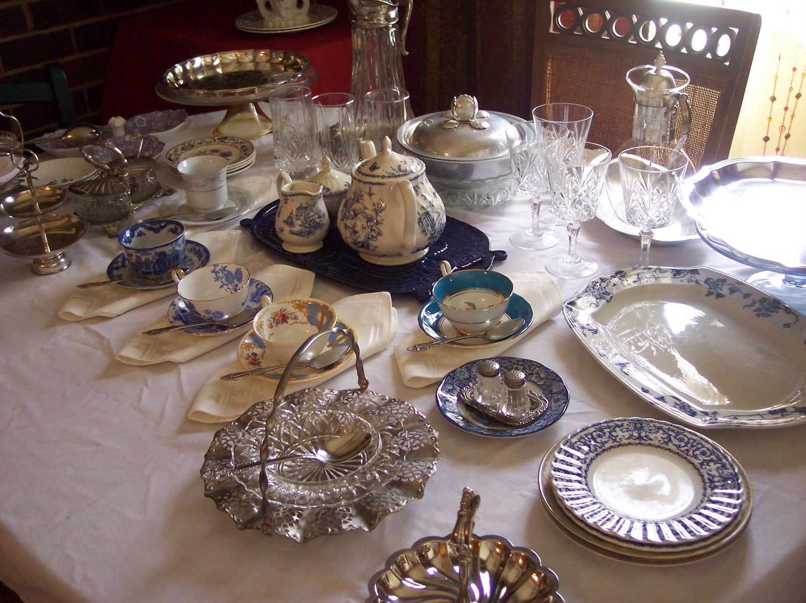This is the savory side for Victorian tea party supplies
